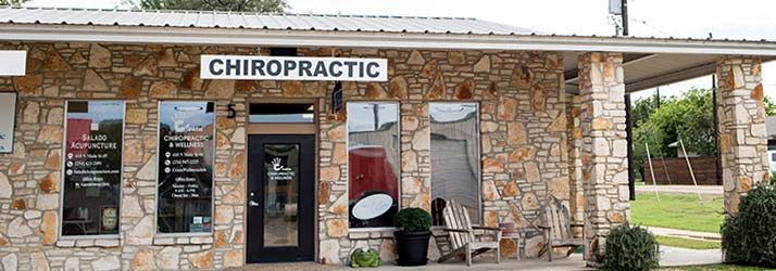 Chiropractic Salado TX Office Building