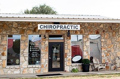 Chiropractic Salado TX Office Front